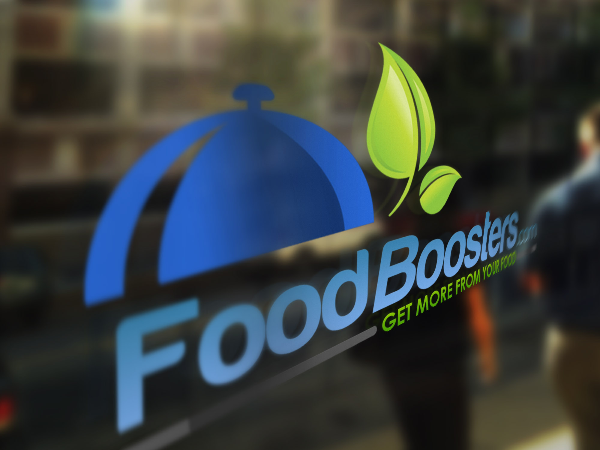 FoodBoosters Doorglass